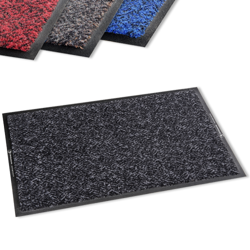 Tapis d 39 entr e anti poussi re mitrium plus super grattant absorbant anthracite bleu rouge Tapis d entree interieur