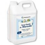 Savon liquide de Marseille nature surgras – 2 bidons de 5 L