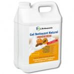 Gel nettoyant naturel industrie sans solvant avec charge 100% végétale – 2 bidons de 5 L