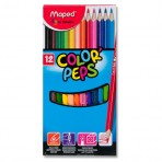 Boîte de 12 crayons de couleur – Lot de 2 boîtes