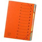 Trieur à élastique 12 positions orange