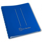 Protège document A4 – 30 pochettes bleu