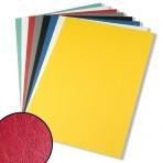 Couverture A4 carton fort aspect grain de cuir (pour reliure par anneaux) – Paquet de 25
