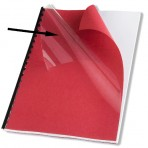 Couverture A4 PVC transparent (pour reliure par anneaux) – Paquet de 100