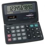 Calculette de poche rabattable – Conversion FF / ? intégrée – 7 x 12 cm fermée