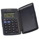 Calculette mini de poche rabattable – Conversion FF / ? intégrée – 6 x 10 cm fermée