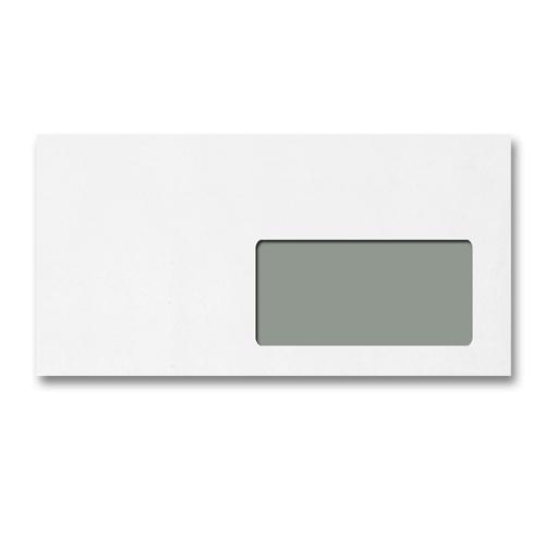Enveloppe blanche fen tre vitrex 45x100 114 x 229 auto for Enveloppes a fenetre