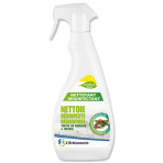 Nettoyant désinfectant surfaces et textiles – Huiles essentielles – Flacon spray 750 ml