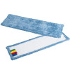 Frange de lavage microfibre bleue