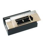 Distributeur de 5 lames de rechange 4 cm