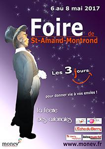 Affiche Foire St-Amand