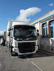 Nouveau camion à l'ESAT Vernet Industriel
