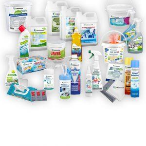 03. Produits détergents, nettoyants, dégraissants et désinfectants