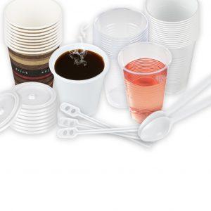 18. Vaisselle à usage unique et rangement