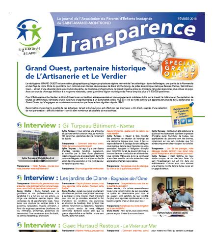 Transparence Spécial Grand Ouest – Fév. 2018