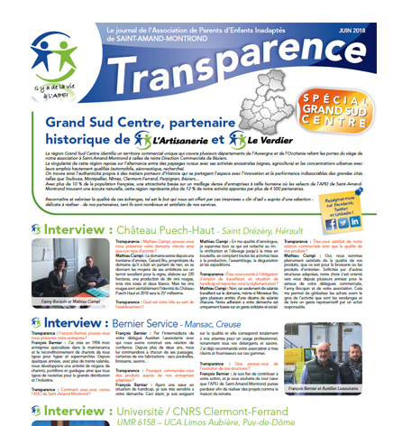 Transparence Spécial Grand Sud Centre – Juin 2018