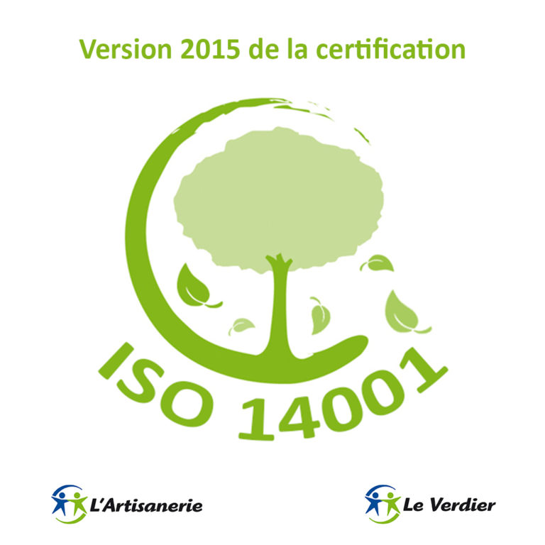 Version 2015 de la certification ISO14001