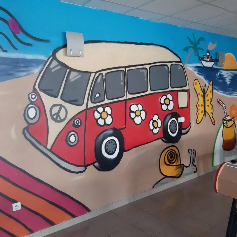 Graff aux foyers Bernard-Fagot