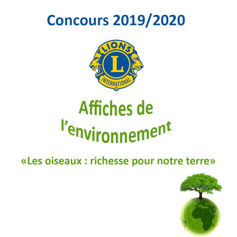 Concours d'affiches pour l'environnement