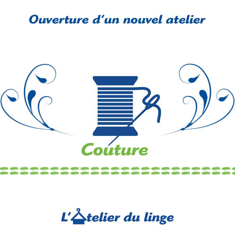 Ouverture atelier couture