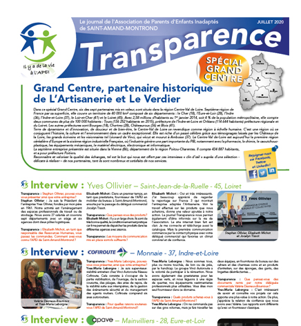 Transparence Spécial Grand Centre – Juillet 2020